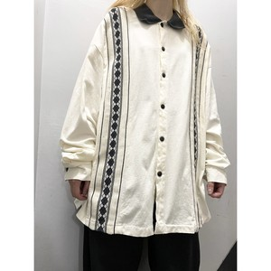 90's Spike Boys スイッチングシャツ