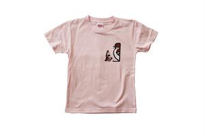 ビッグチュン搬入チュン Tシャツ キッズ ピンク