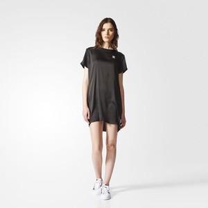 (アディダス オリジナルス) adidas Originals BR4552 WOMEN TREFOIL TEE DRESS ドレス BLACK