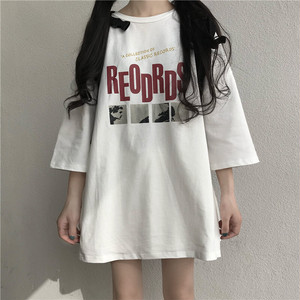 2020SS シンプルなプリントTシャツ