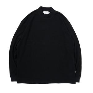 SO ORIGINAL MOCK NECK L/S T-SHIRT(BLACK)