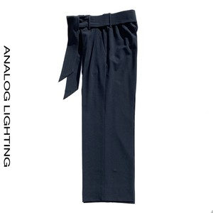 Wide Pants/WOOL/NAVY