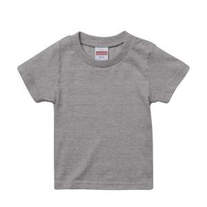 プリント用Tシャツ(半袖)グレー 90㎝~160㎝