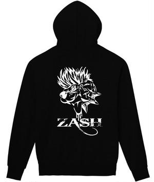 【パーカー】P02 WILD ZASH (フロント無地版)