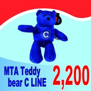 MTA Teddy bear C LINE