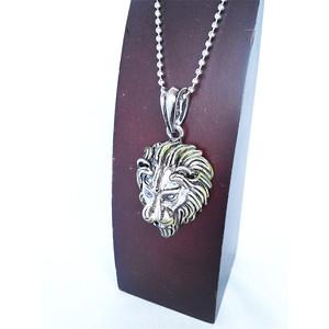ライオン ネックレス ボールチェーン シルバー 銀 SILVER 1453