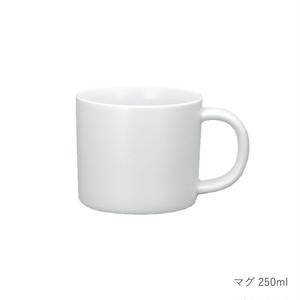 西海陶器 波佐見焼 「コモン」 マグ 250ml ホワイト 13876