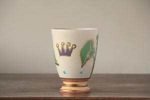 ゴブレット g00113 芋の葉っぱと王冠