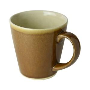 益子焼 つかもと窯 ブラウン 260ml マグカップ 伝統釉シリーズ 飴釉 PM-1