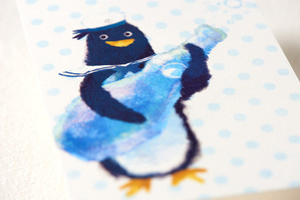 ペンギンポストカード[夏休みせっと]