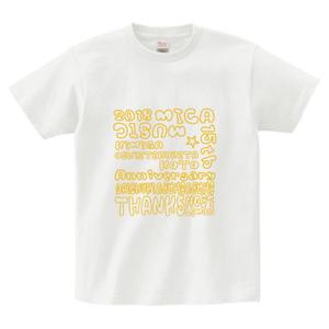 MICAdemy会員対象 15周年Tシャツ(ホワイト)  S,M,L,XL,XXL