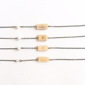 シングルリードのリバーシブルブレスレット  Reversible single reed bracelet ( S )