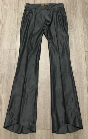 2000s JOHN GALLIANO FLARE TROUSERS