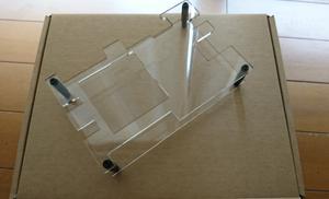 PYNQ-Z2ボード用 アクリルケース  型番:695-M000000416