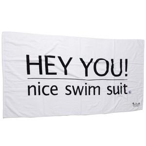 HEY YOU ! Beach Towel