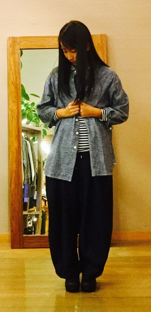 【NATURAL LUNDRY】ビックワークSH D・P/7175T-011