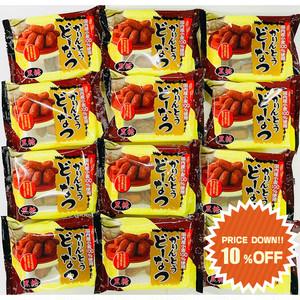 【まとめ買いで10%OFF】かりんとうどーなつ黒糖 ×12袋 / どーなつファーム / 山田製菓
