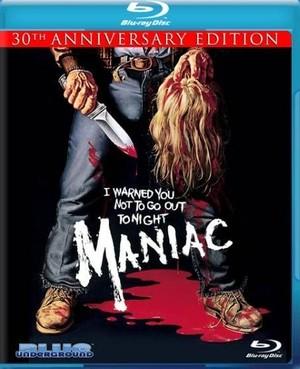 傑作ホラー☆Maniac マニアック 30thアニバーサリーエディション 輸入版ブルーレイ