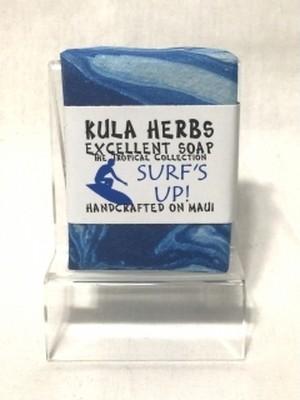 KULA HERBS(クラハーブス)Soap-ソープ-オーガニック-サーフアップ(ビャクダン)-石鹸-洗顔-ボディ-手作り-hawaii-ハワイ-ココナッツオイル-ククイナッツオイル