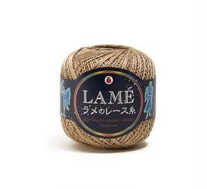 【定価半額】ダルマ手編み  ラメのレ-ス糸#30 SS18