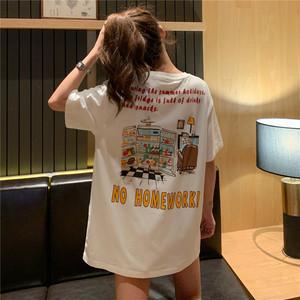 インパクト大!オーバーTシャツ
