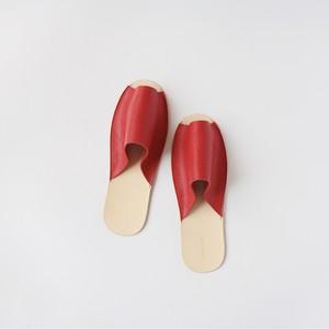 スリッパ Slippers (red)