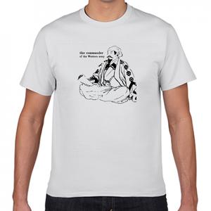 石田三成 戦国 豊臣家 関ヶ原の戦い 西軍 戦国武将 歴史人物Tシャツ022