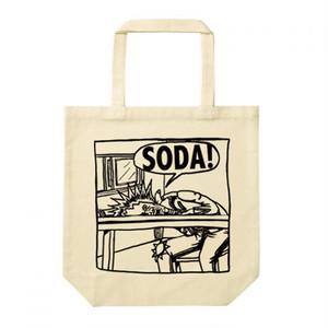 SODA! イラストトートバッグ