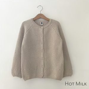 Le Petit Germain / ARMEL Cardigan / HOT MILK