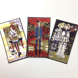 collection cards MODERN GIRLS Ⅰ(3枚セット)