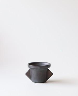 Pot. SF series No.2(ブラック)  植木鉢