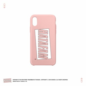 """HATAFAM Logo"" iPhone Case - Baby Pink"