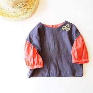 GIRLSパフ袖 プルオーバー/100サイズ