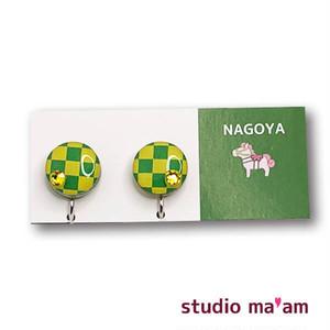 ■NAGOYA-10  イヤリング。まる。〜ピアス変更可〜