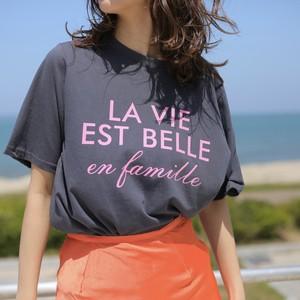 nselection La VIE Tシャツ / YE・CH