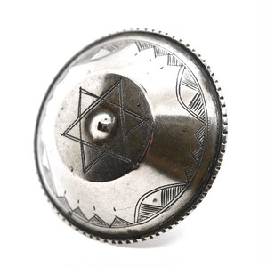 Vintage African Tuareg Silver Rattle Ring