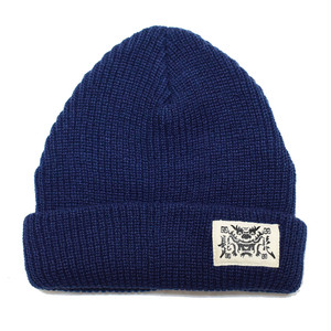 髭髭倶楽部 / HIGEHIGE DRAGON BEANIE [BLUE]