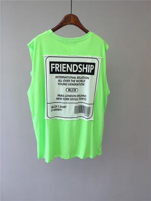 Friendshipタグトップス (4col) 129