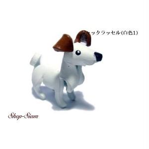 本牛革 アニマル キーチェーン ジャック・ラッセル・テリア/Jack Russell Terrier ハンドメイド製