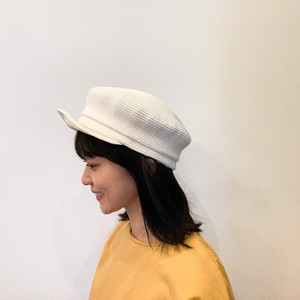 G120022【cableami】COTTON BRAID FISHERMAN CAP