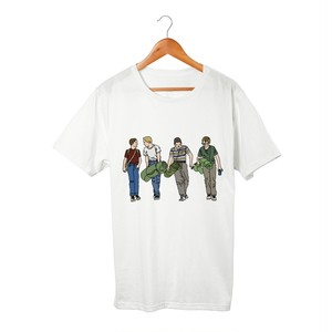 Gordie, Chris, Teddy and Vern Tシャツ