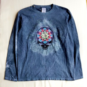 "TKHOME FACTORY × GRATEFUL DEAD ""曼荼羅染め"" TieDye Kids Long sleeve T-shits 150size"