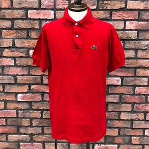 1970s Lacoste Polo Shirt Made In France Red 6