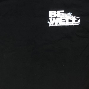 """BE WELL """"The Weight And The Cost"""" Black"""