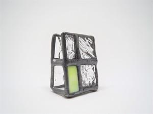 ガラスのカードホルダー(小)Yellow