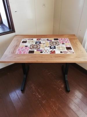 タイルのダイニングテーブル◎受注生産