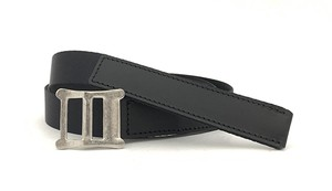 RE.ACT Buttero x Nylon Combi Belt Black