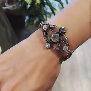 【classic jewelry】ビジューブレスレット