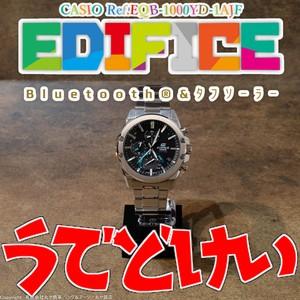 カシオ:エディフィス/EQB-1000YD-1AJF型/スマートフォンリンク/CASIO/EDIFICE/Bluetooth