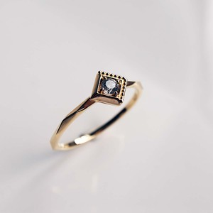Gravity -Dignified- Gray Diamond Ring(R278-YD)
